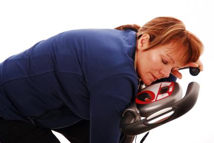 sofrimento no exercício
