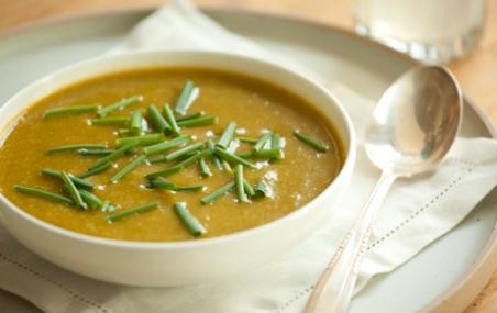 sopa de brócolis