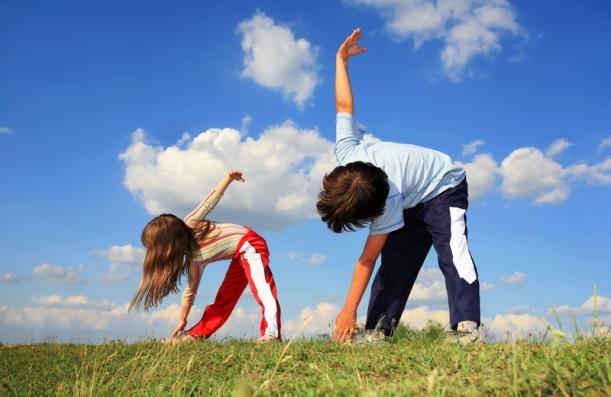 criança e atividade física