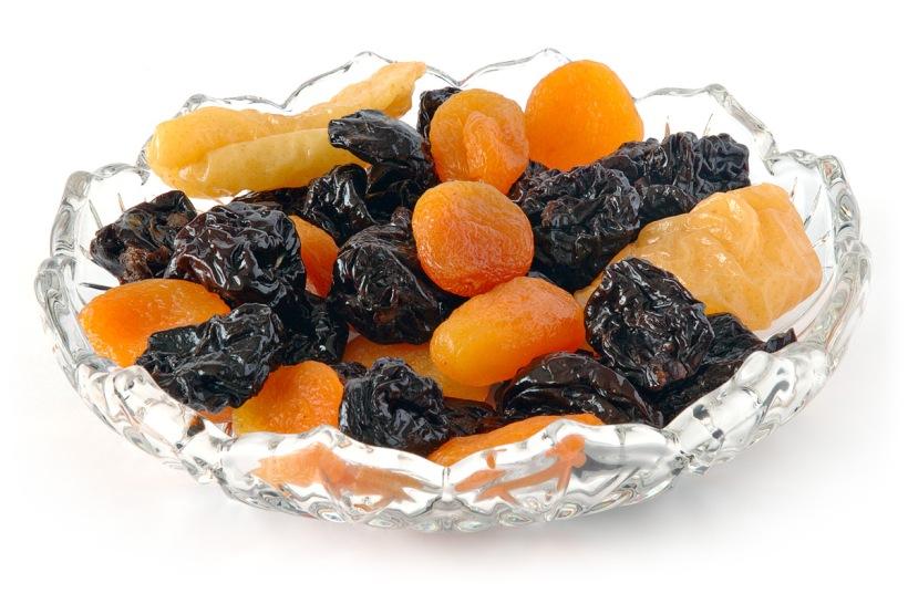 frutas secas doces