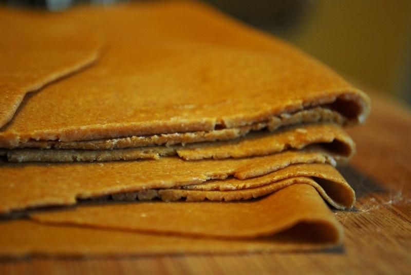 massa de lasanha integral